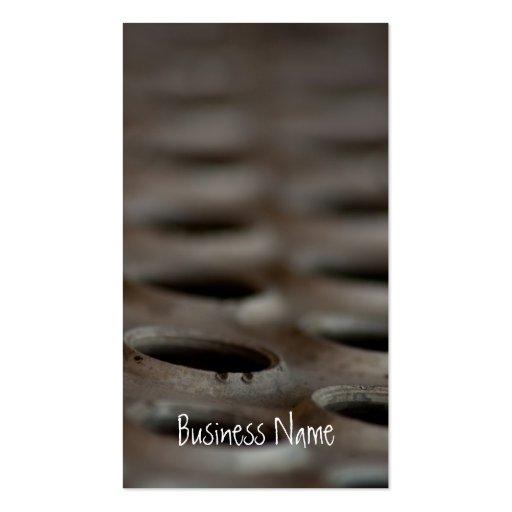 Scrap Metal Business Card Template