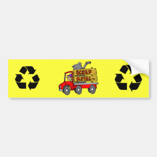 Scrap Metal Collector Bumper Sticker