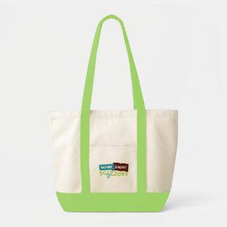 Scrap Paper Scizzors Bag