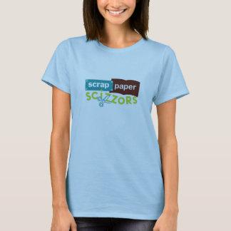 Scrap Paper Scizzors Logo T-Shirt