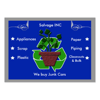 scrap recyclers pack of chubby business cards