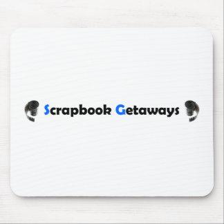 Scrapbook Getaways Items Mouse Pad