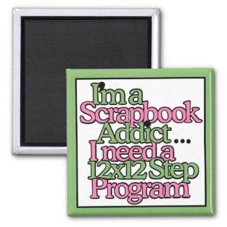 Scrapbook Hobby Magnet