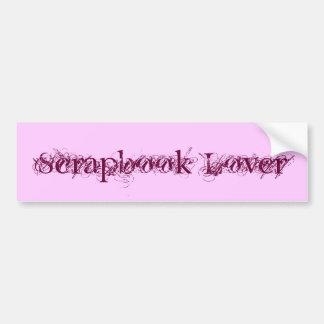 Scrapbook Lover Car Bumper Sticker