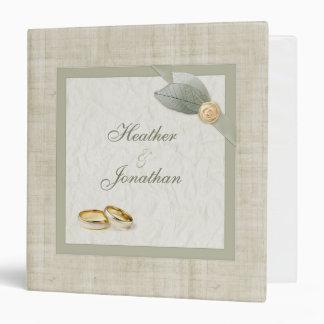 Scrapbook Wedding Planner binder