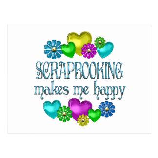 Scrapbooking Happiness Postcard