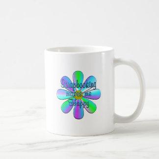 Scrapbooking Happy Coffee Mug