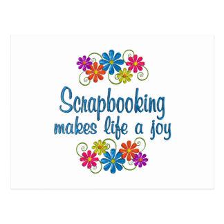 Scrapbooking Joy Postcard
