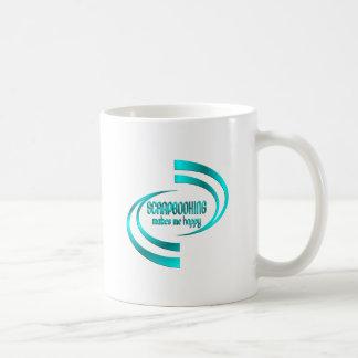Scrapbooking Makes Me Happy Coffee Mug