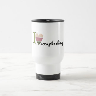 scrapbooking merchandise travel mug