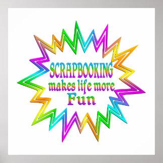 Scrapbooking More Fun Poster