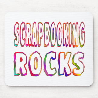 Scrapbooking Rocks Mouse Pad