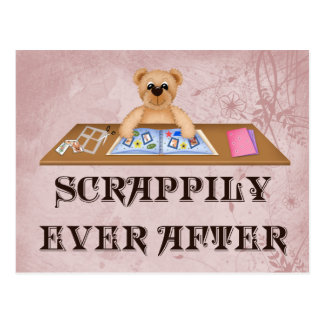 Scrappily Ever After Postcard