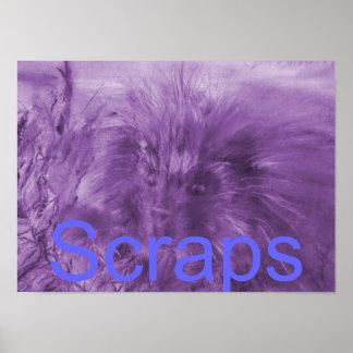'Scraps' Cover Page Print