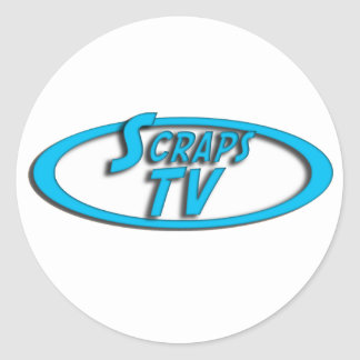 Scraps Logo Sticker