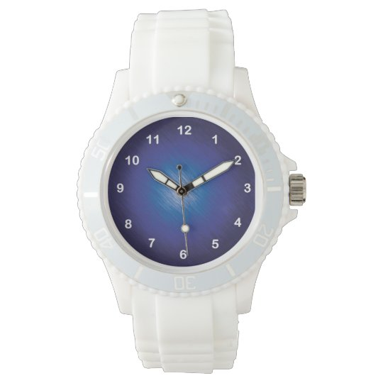 Scratch Blue Watch