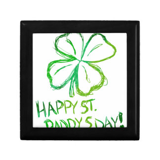 Scratch Card Art - St. Paddy's Day Gift Box