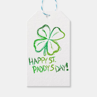 Scratch Card Art - St. Paddy's Day Gift Tags