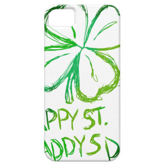 Scratch Card Art - St. Paddy's Day iPhone 5 Cover