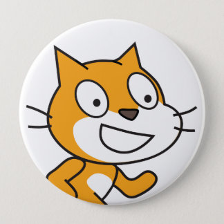 Scratch Cat Button