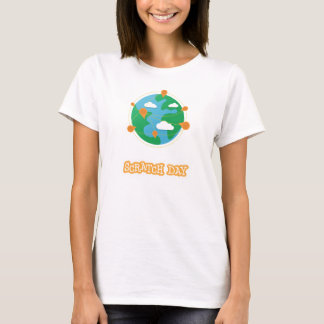 Scratch Day Globe Shirt (Womens)