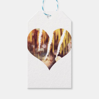 Scratch hart gift tags