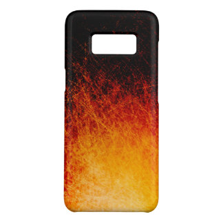 Scratched bonfire flames Case-Mate samsung galaxy s8 case