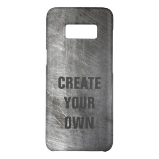 Scratched Brushed Metal Texture Case-Mate Samsung Galaxy S8 Case