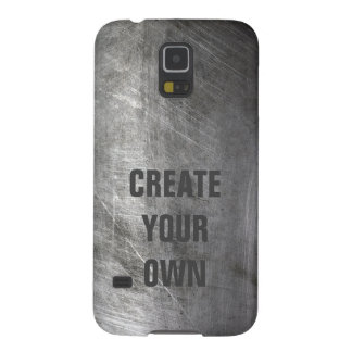 Scratched Brushed Metal Texture Galaxy S5 Cases