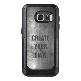 Scratched Brushed Metal Texture OtterBox Samsung Galaxy S7 Case