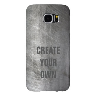 Scratched Brushed Metal Texture Samsung Galaxy S6 Cases