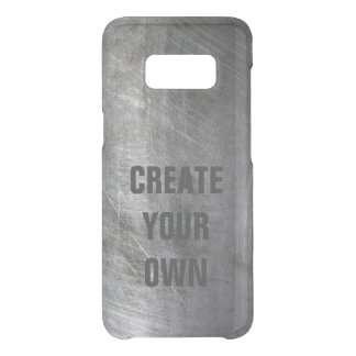 Scratched Brushed Metal Texture Uncommon Samsung Galaxy S8 Case
