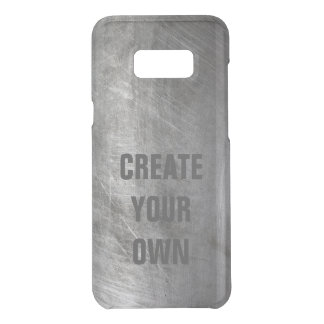 Scratched Brushed Metal Texture Uncommon Samsung Galaxy S8 Plus Case