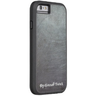 Scratched Metal Tough Xtreme iPhone 6 Case