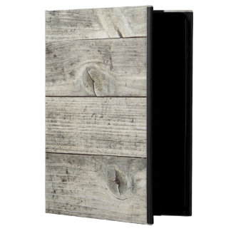 Scratched Wooden Texture iPad air case