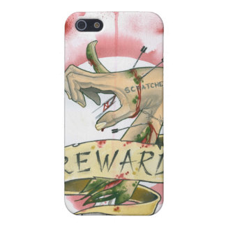scratcher's REWARD Cover For iPhone 5