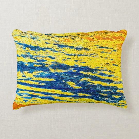 Scratches Accent Pillow
