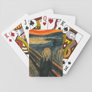 Scream by Munch Playing Cards