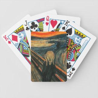 Scream by Munch Poker Deck
