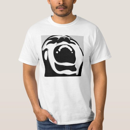 Scream design t-shirt