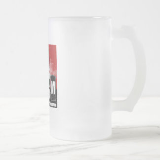 Scream Factory Frosted Glass Mug