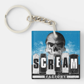 Scream Factory Keychain