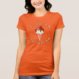Scream For Ice Cream T-Shirt
