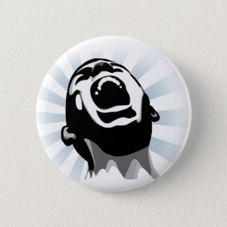 Scream halo 2 inch round button