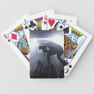 Scream it out! bicycle playing cards