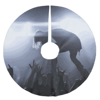 Scream it out! brushed polyester tree skirt