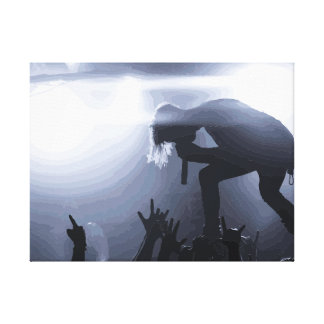 Scream it out! canvas print