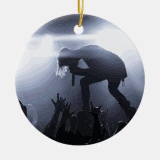 Scream it out! ceramic ornament
