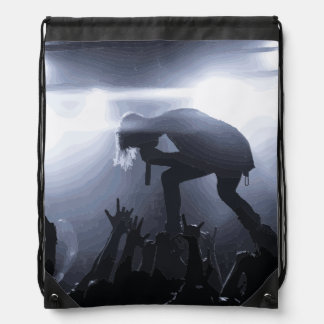 Scream it out! drawstring bag