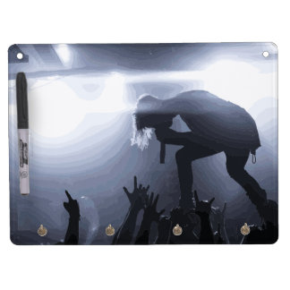 Scream it out! dry erase board with keychain holder